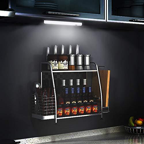 GACO Einfache Montage Bewegungsmelder Nachtlicht 10 Led Schranklicht Kleiderschrank Schrankbeleuchtung Mit Lichtsensor Rechargeable Batterie Magnet FüR Schrank KüChe Flur Dachboden Schublade
