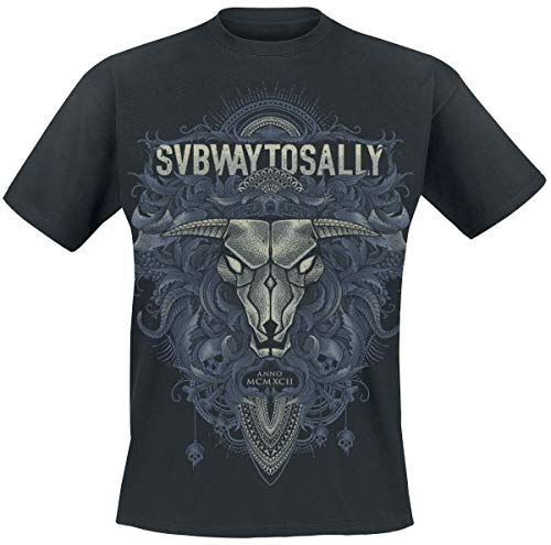 Subway To Sally - Floral Bull T-Shirt (XXL)