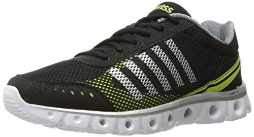 K-Swiss X Lite Athletic Cmf - Zapatillas de deporte Hombre, color Negro - Black (Black/Chrcl/Yellow 093), talla 45 EU