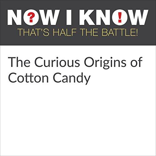 Diseño de la portada del título The Curious Origins of Cotton Candy
