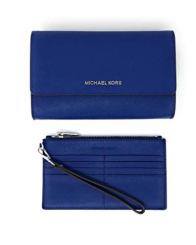 "MK Womens, Gold Hardware. Interior Details: Back Slip Pocket, Removable Zip Pouch With 8 Card Slots. Adjustable Strap: 20.5""-22.5"". 8.5""W X 6.5""H X 2.25""D. IMPORTANT:Style Made Only For MK Outlet, Does Not Include Box Nor Duster Bag."