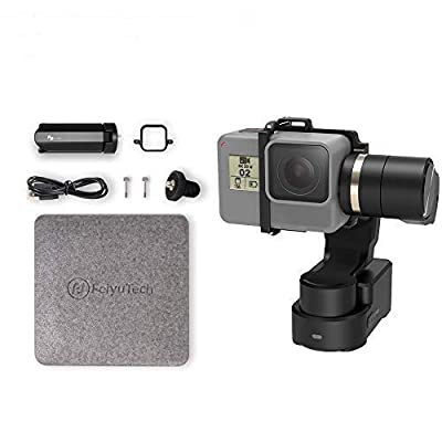 FeiyuTech WG2X 3-Axis Camera Gimbal Stabilizer for GoPro Hero 8(Fixture)/7/6/5/4, DJI Osmo Action, AEE, SJCAM Sports Cams Action Camera Wearable Stabilizer Gimbal by FeiyuTech