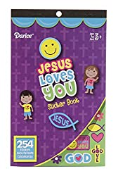Religious Sticker Book- Jesus Loves You