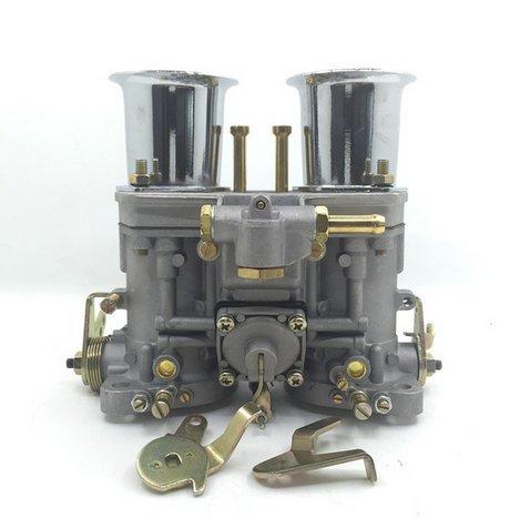GOWE Carburador para carburador original 48 IDF 48IDF + bocinas de aire + palancas de varillaje de repuesto para Solex Dellorto Weber EMPI