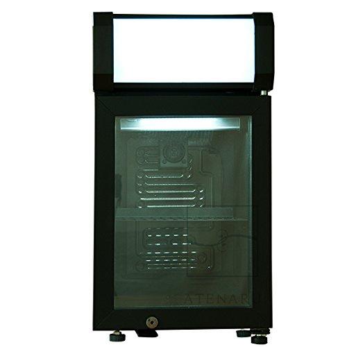 ATENARU アテナル 25リットル型ディスプレイ冷蔵庫 コンプレッサー式 ドア右開き