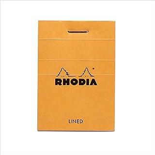 Rhodia 10600C notitieblok gelinieerd, 52 x 75 mm, 80 vellen, 1 stuk oranje
