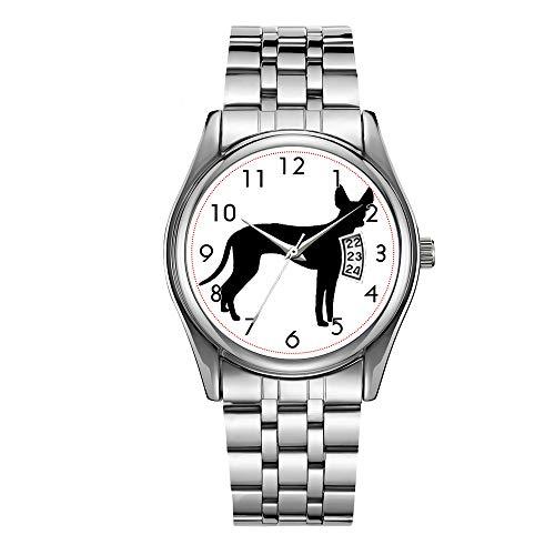 Reloj de los hombres de lujo 30m impermeable fecha reloj masculino deportes relojes hombres cuarzo casual reloj de pulsera de Navidad Cirneco delletna silo.png reloj