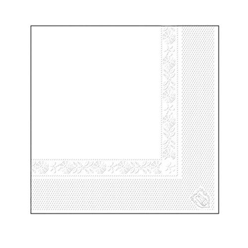 García de Pou Servilletas, Blanco Tissue, 30 x 30 x 30 cm, 100