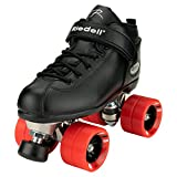 Riedell Skates - Dart - Quad Roller Speed Skates   Black   Size 11