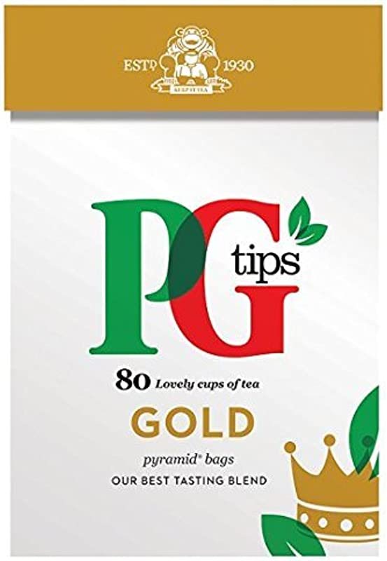 PG Tips Gold 80 Bags 3 Pack