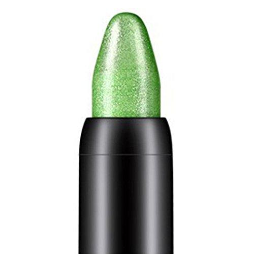 Tonsee Femmes Beauté Surligneur Crayon À Paupières Cosmétique Glitter Ombre À Paupières Eyeliner Stylo Outil De Maquillage Portable, 116cm (Vert)