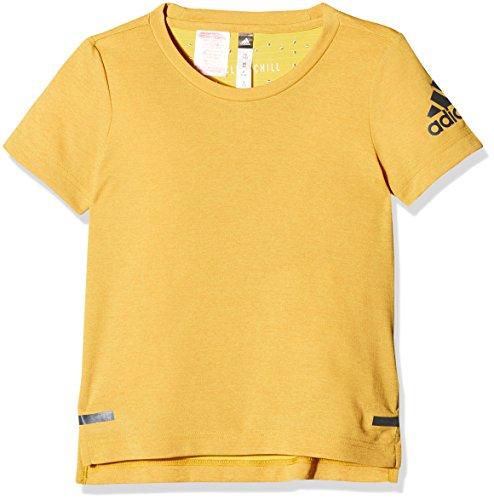 adidas Mädchen Climachill Shirt T, Chieqt/Black, 128