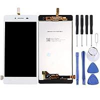 DMTRAB for. ビボY51の液晶画面とデジタイザフル・アセンブリ(ホワイト)LCDスクリーン用 (Color : White)