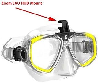 SCUBAPRO Galileo HUD Hands-Free Diving Computer Mount for Zoom Masks