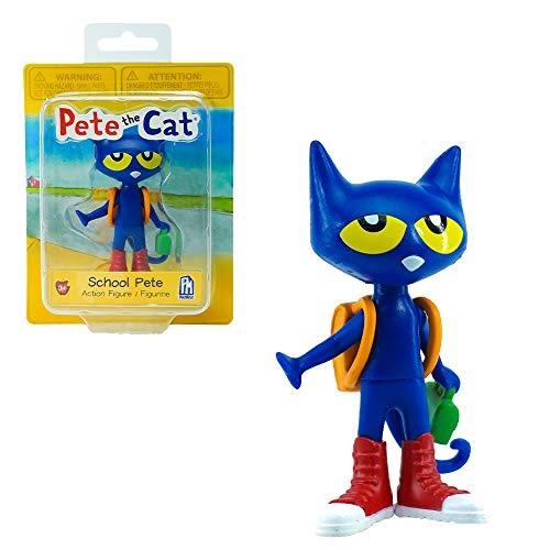 Pete the Cat 3' Action Figure (School Pete)