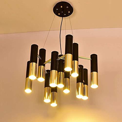 WY-YAN Hanging Lamp Light Villa Hotel Living Room Restaurant Cafe Diameter 52 * 40Cm Gold Black Modern Decoration Decoration Good Light