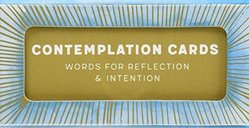 Contemplation Cards Words for Reflection Intention product image