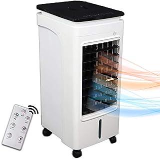 冷風扇 冷風機 冷風扇風機 冷暖房 温冷風扇 2WAY ホット&クールファン リモコン付き タイマー 涼しい 暑さ対策 熱中症対策グッズ キャスター付き スポットクーラー クールファン 送風機 温風機 年中 (西日本用)
