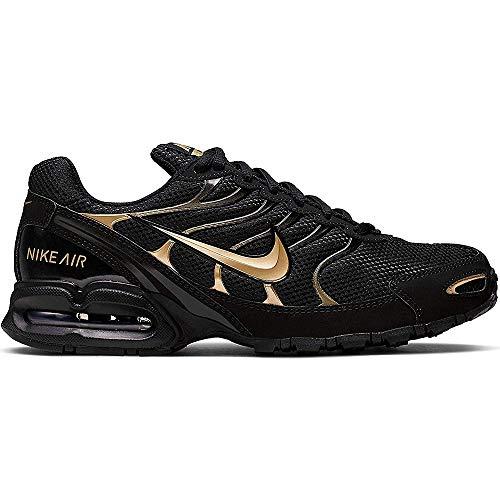 NIKE Women's Air Max Torch 4 Running Shoes (7 B(M) US, Black/Metallic Rose Gold)