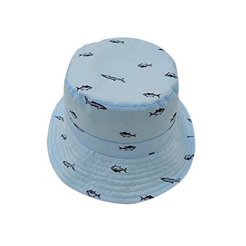 Baby Girl UPF 50+ Chapeau Réglable Sangle Capeline Imprimé Animal Protection Solaire Pliable Été Sunhat pour Les Garçons Bébés Filles