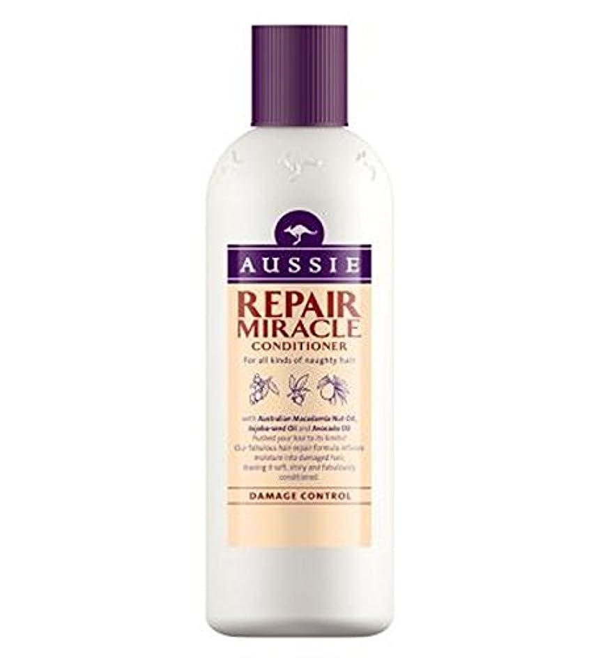 バックアップドーム兄いたずらヘア400ミリリットルのすべての種類のオージーエアコンの修理の奇跡 (Aussie) (x2) - Aussie Conditioner Repair Miracle for All Kinds of Naughty Hair 400ml (Pack of 2) [並行輸入品]