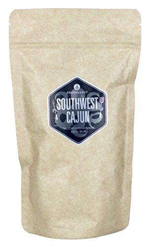 Southwest Cajun, BBQ Rub, 250g im aromadichten Beutel