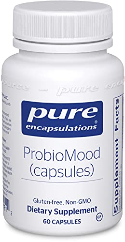 Pure Encapsulations - ProbioMood - Shelf Stable Probiotic Combination Designed to Support Well-Being - 60 Capsules