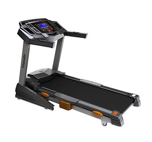 Durafit Heavy Hike 2.5HP (Peak 5.0 HP) Motorized Foldable Treadmill with Auto-Incline -Black
