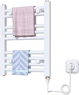 SLINGDA Toallero Riel eléctrico Calentador eléctrico Soporte Inteligente para el hogar Secado con calefacción Baño radiador Trapezoidal La Superficie de rociado no se oxida