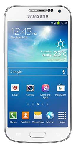 Samsung Galaxy S4 Mini I9195 LTE Smartphone weiß (10,85 cm (4.27 Zoll) AMOLED-Touchscreen, Micro-Sim, 8 GB interner Speicher, 8 Megapixel Kamera, LTE, NFC, Android 4.2) (Generalüberholt)