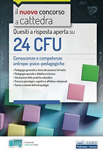 Quesiti a risposta aperta su 24 CFU