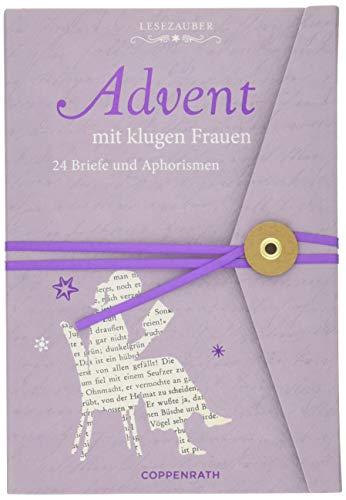 Briefbuch - Advent mit klugen Frauen: 24 Briefe und Aphorismen