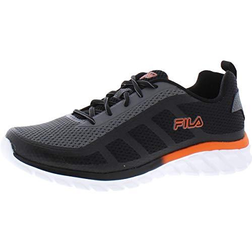 Fila Memory Dizkize 2 Men's Running 9.5 D(M) US Grey-Black-Tango