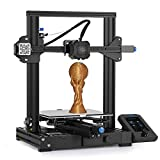3 idea Imagine Create Print Creality Ender 3 V2 ORIGINAL Upgraded Version 3D Printer | TMC2208 | Resume Printing | Beginner Friendly | Certified Power Supply | Size 220x220x250mm
