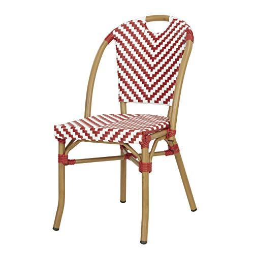 PROMO: -32% Chaise bistrot SHEN en polyrotin