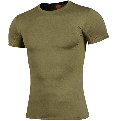 Pentagon Apollo Tac-Fresh T-Shirt Coyote, 2XL, Coyote