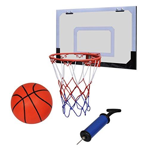 Festnight Mini Panier Basket Ball avec Ballon et Pompe