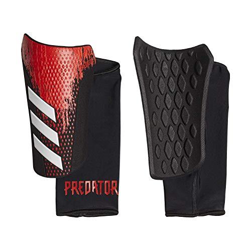 adidas Press SG COM Schienbeinschoner, Körperschutz, Erwachsene, Unisex, Mehrfarbig (schwarz/ROJACT), XL