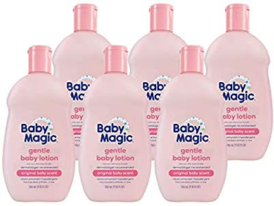 Baby Magic Gentle Baby Lotion Vitamins & Aloe, Original Baby Scent, 6 Count by AmazonUs/NABU7