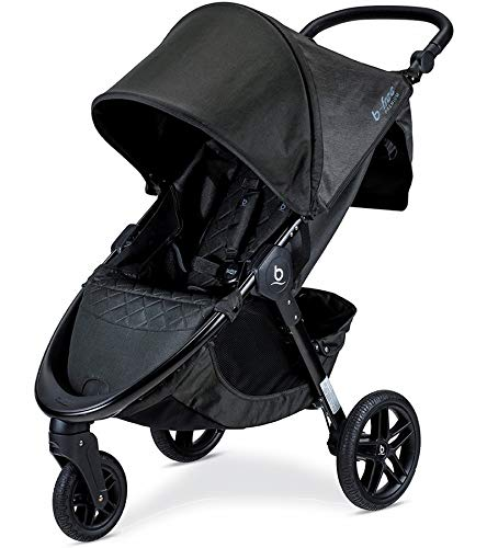 New Britax B-Free Premium Stroller, Black Shimmer