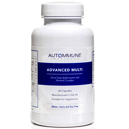 Advanced Multi. Multivitamin and Mineral. Contains Folate (as 5-MTHF), CoQ10, Vitamin D3, K2, B12 Methylcobalamin and More (29 Multivitamins). One a Day Capsule. 2 Month Supply. Made in The UK.