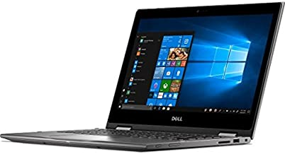 """Dell Inspiron Premium 2-in-1 Business Laptop Computer with 13.3"""" Full HD Touch Screen Display, Intel i7-8550U Processor(up to 4GHz), 8GB RAM, 256GB SSD, Webcam, HDMI, USB 3.0, Windows 10 (Gray)"""