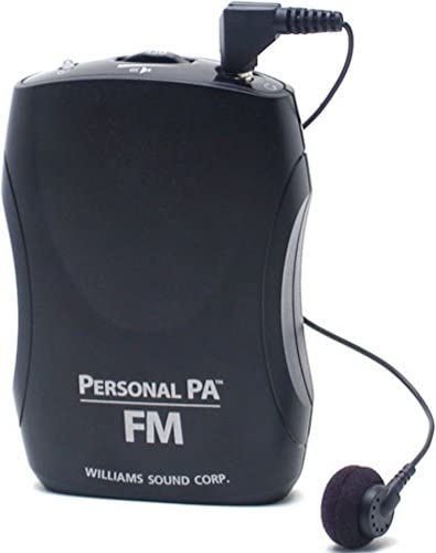 Williams Sound PPA R37 PPA Select FM Receiver Black Fits PPA T46 PPA T45 PPA T45NET and PPA product image