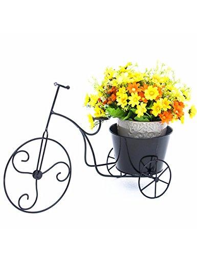 Blumenständer Plante Théâtre Type de vélo de Fer de Pot de crémaillère pour Ourdoor et Salon Cadeau idéal Jardinier 1
