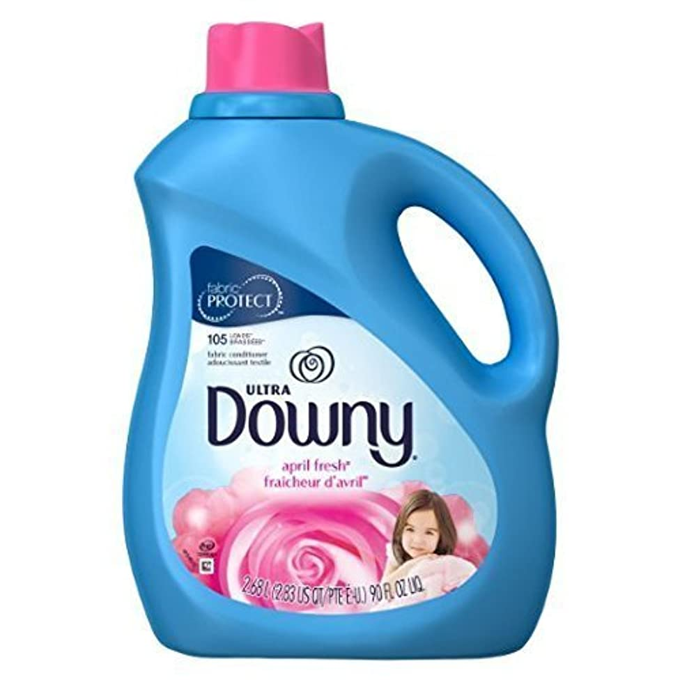 Ultra Downy 29511 90 Oz April Fresh Scent Ultra Downy? Fabric Softener (pack of two)
