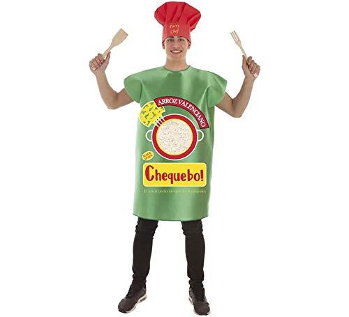 Creaciones Llopis Disfraz de Paquete de Arroz para Adultos