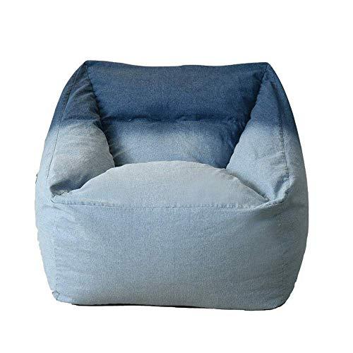 LuoMei Bean Bag Lazy Sofa Chair Mobiliario con Reposapiés para Niños Adultos Perfecto para Jugar Videojuegos o Relajarse en el Hogar Silla de Piso de Oficina Silla de Salón Envío Gratis Cepillo Pegaj