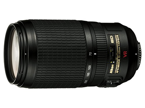 Nikon AF-S VR 70-300mm F4.5-5.6 G - Objetivo para Nikon (Distancia Focal 70-300mm,...