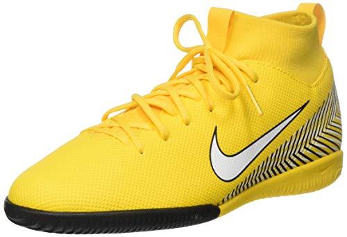 Nike Unisex-Kinder Superfly VI Academy Neymar Indoor Futsalschuhe, Mehrfarbig (Amarillo/White/Black 710), 35 EU
