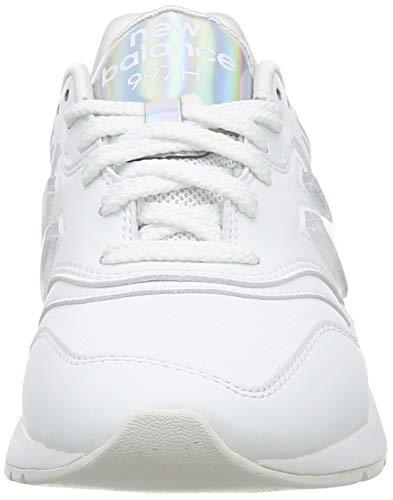 New Balance 997H', Zapatillas Mujer, White, 44 EU